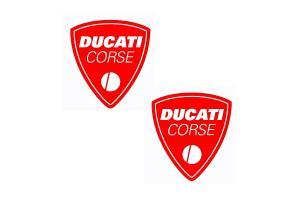 Kit 2 stickers DUCATI CORSE