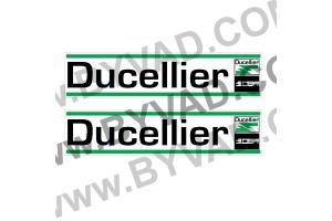 2 Autocollants Ducellier