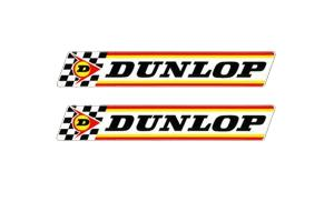 2 Stickers Dunlop