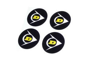Kit 5 Stickers de Jantes DUNLOP