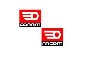 Autocollant  FACOM x 2