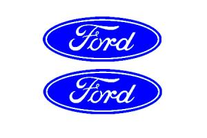Stickers Logo Ford x 2