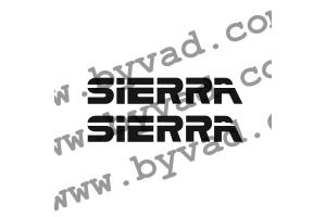 Stickers Sierra x 2