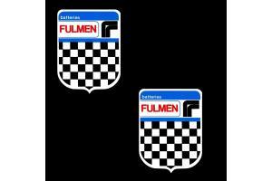 2 Stickers Fulmen