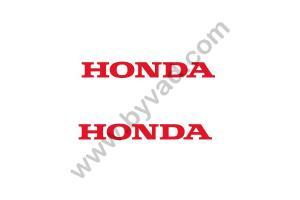 2 Stickers Honda 20 cm