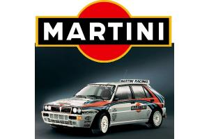 Kit 2 stickers Martini 50 cm