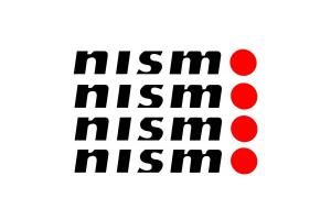 Kit 4 stickers Nismo modèle 1
