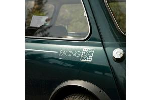 Kit 3 stickers Racing Green + Liseret