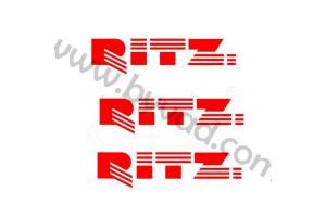 Kit 3 stickers Austin mini RITZ