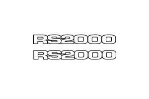 Stickers RS2000 x 2