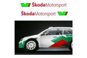 Sticker Skoda Motorsport