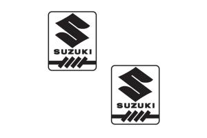 2 Stickers Suzuki