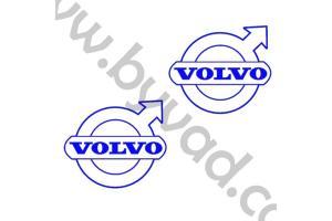 Deux stickers Volvo