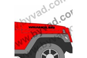 KIT 2 Stickers WRANGLER