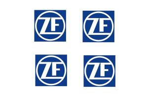 4 Stickers ZF Transmissions