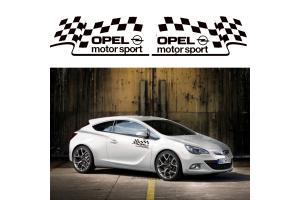 Kit 2 Stickers Opel Motorsport