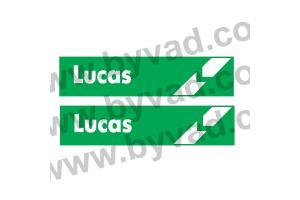 2 Stickers Lucas
