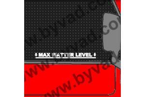 Sticker MAX WATTER LEVEL