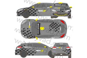 Kit Déco Mégane RS N4