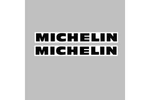 Autocollant MICHELIN x 2
