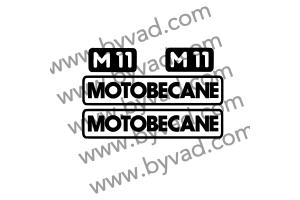 Kit autocollants MOTOBECANE M11