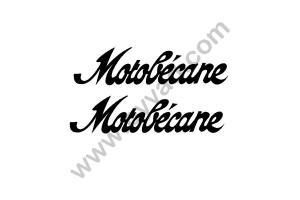 2 Stickers Motobecane