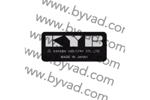 Autocollants KYB 18 mm pour Moto