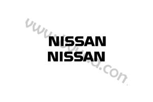 Kit 2 Stickers NISSAN 30 cm