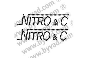 Autocollant Nitro&C