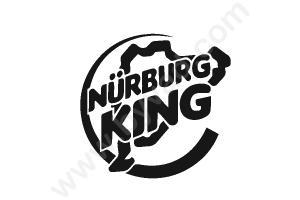 Stickers Nurburg King Monochrome
