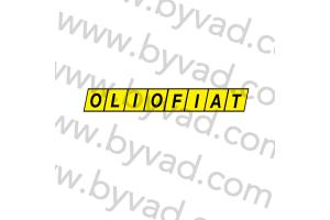 Sticker Olio Fiat