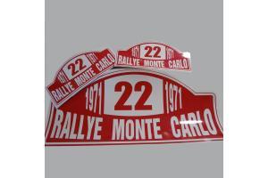 Kit 3 plaques Monte Carlo