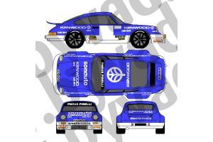 Kit déco Porsche 911 SC KENWOOD