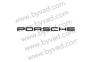 Sticker Porsche 50 cm