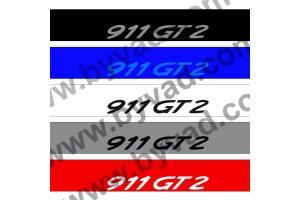 Bandeau pare soleil PORSCHE 911 GT2