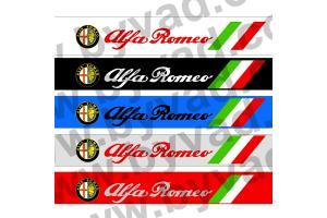 Bandeau pare soleil Alfa Roméo ITALIA