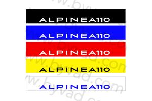 Bandeau pare soleil Alpine A110