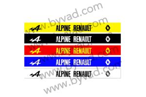Bandeau pare soleil Alpine Renault