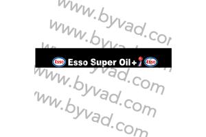 Bandeau Pare Soleil ESSO SUPER OIL PLUS