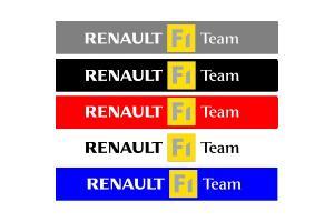 Bandeau pare soleil Renault Sport F1 Team