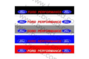 Bandeau pare soleil Ford Performance 04