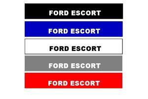 Bandeau pare soleil Ford Escort