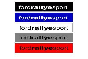 Bandeau pare soleil Ford Rallye Sport