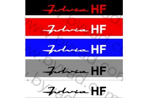 Bandeau pare soleil Lancia Fulvia HF