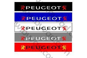 Bandeau pare soleil Peugeot