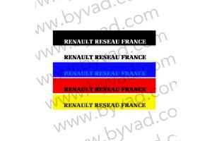 Bandeau pare soleil Renault Réseau France