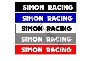 Bandeau pare soleil Simon Racing