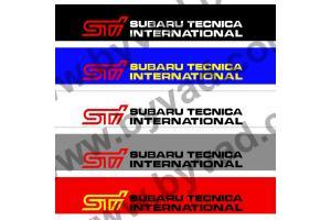 Bandeau pare soleil Subaru Tecnica International