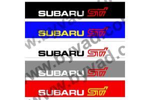 Bandeau pare soleil Subaru STI