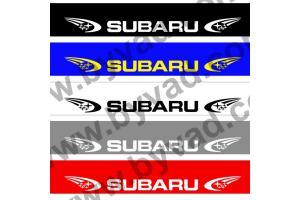 Bandeau pare soleil Subaru World Rally Team